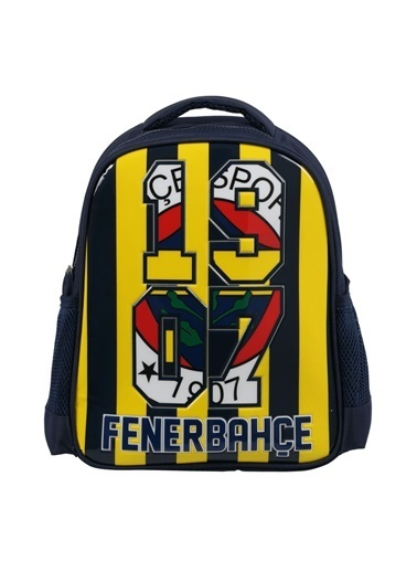 Fenerbahçe Fenerbahçe Anaokulu Çantası Brick Stripes 3623 Renkli